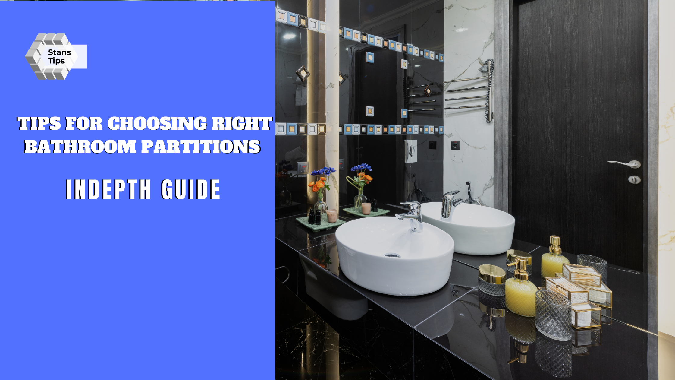 Tips For Choosing Right Bathroom Partations