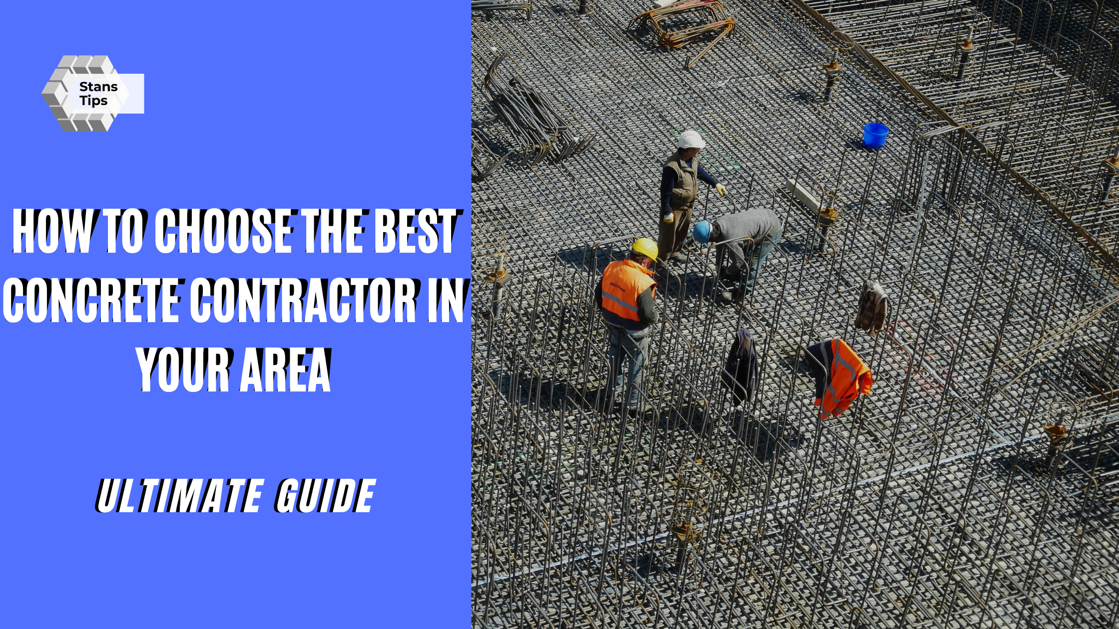How to Choose the Best Concrete Contractor in Your Area