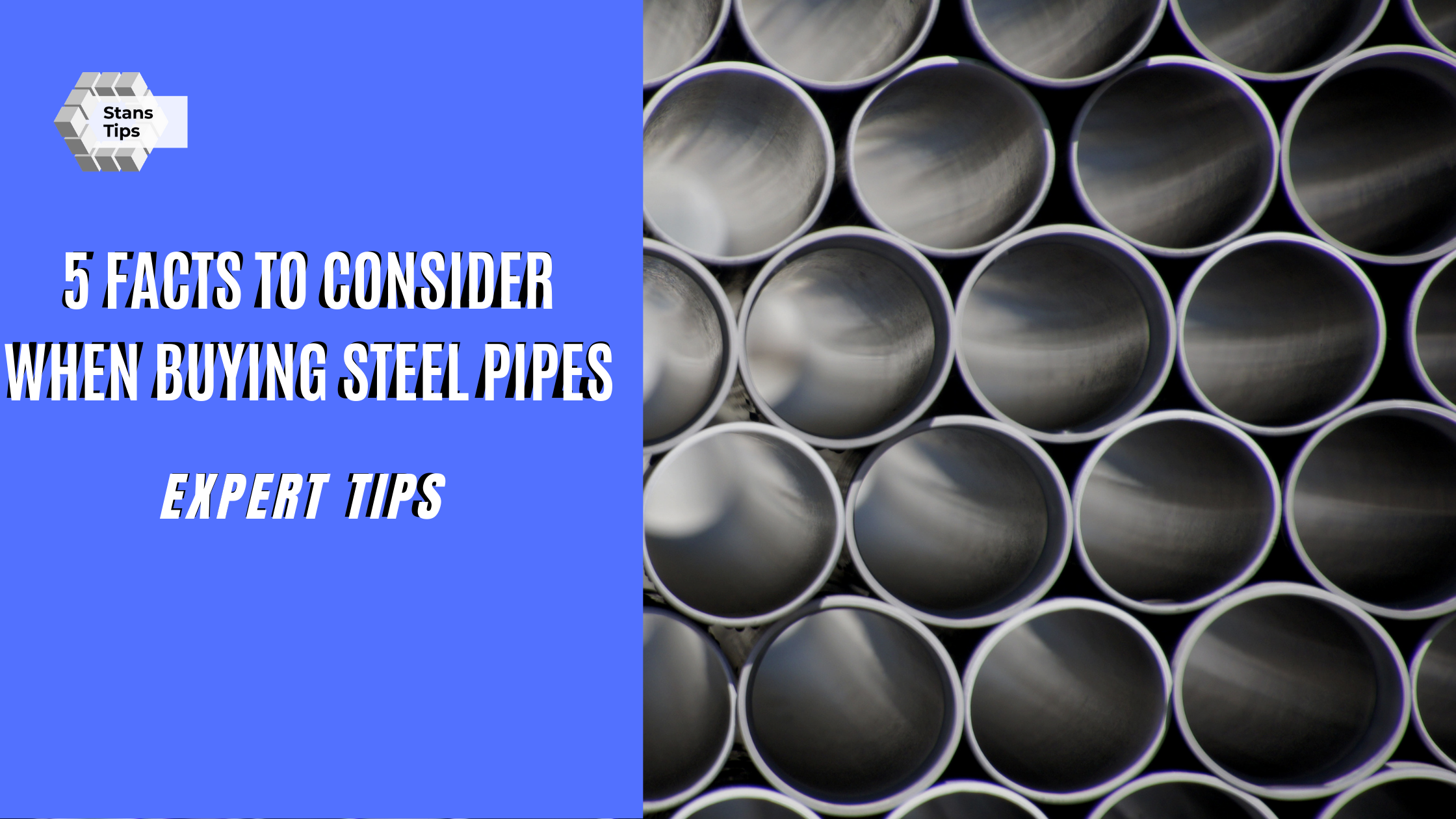 Steel Pipes Buying tips