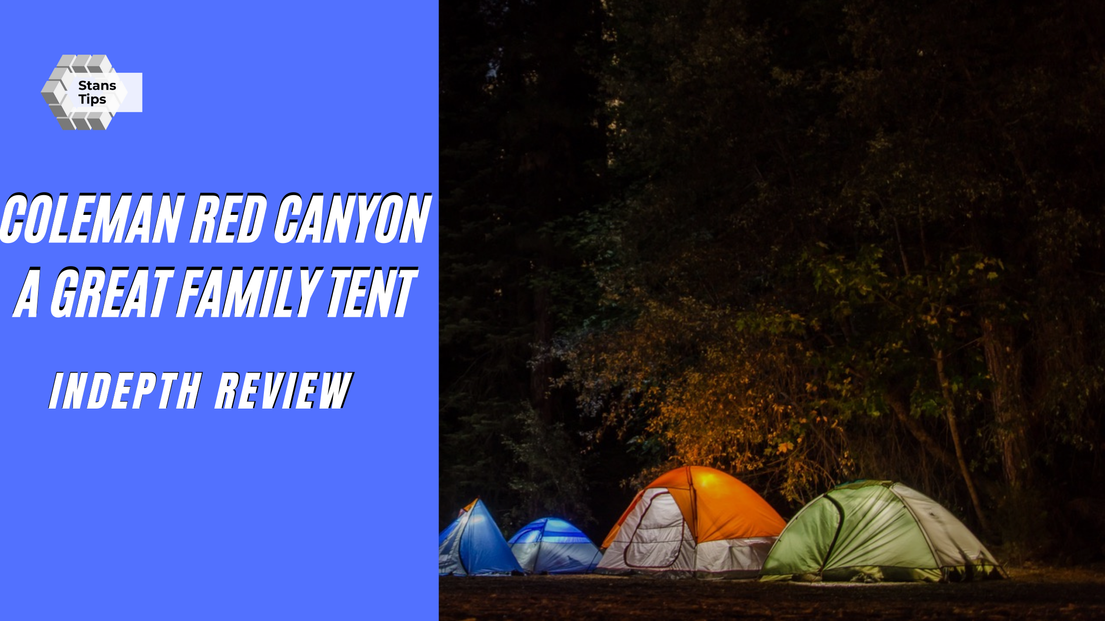 Coleman red canyon review a great family tent
