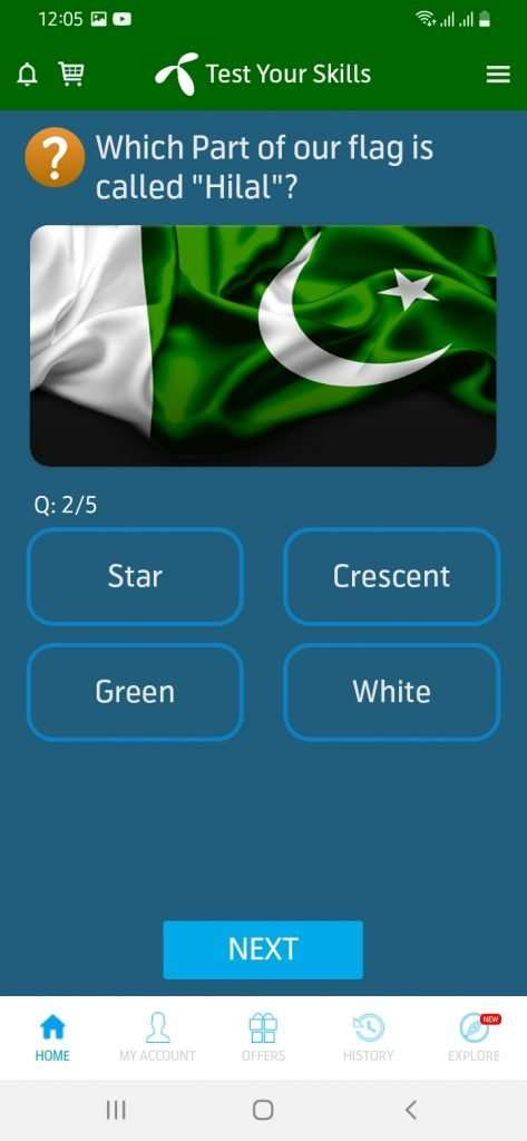13 august 2021 telenor quiz question no 2 answer