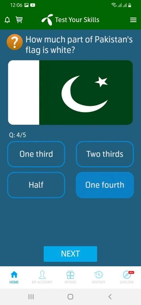 13 august 2021 telenor quiz question no 4 answer