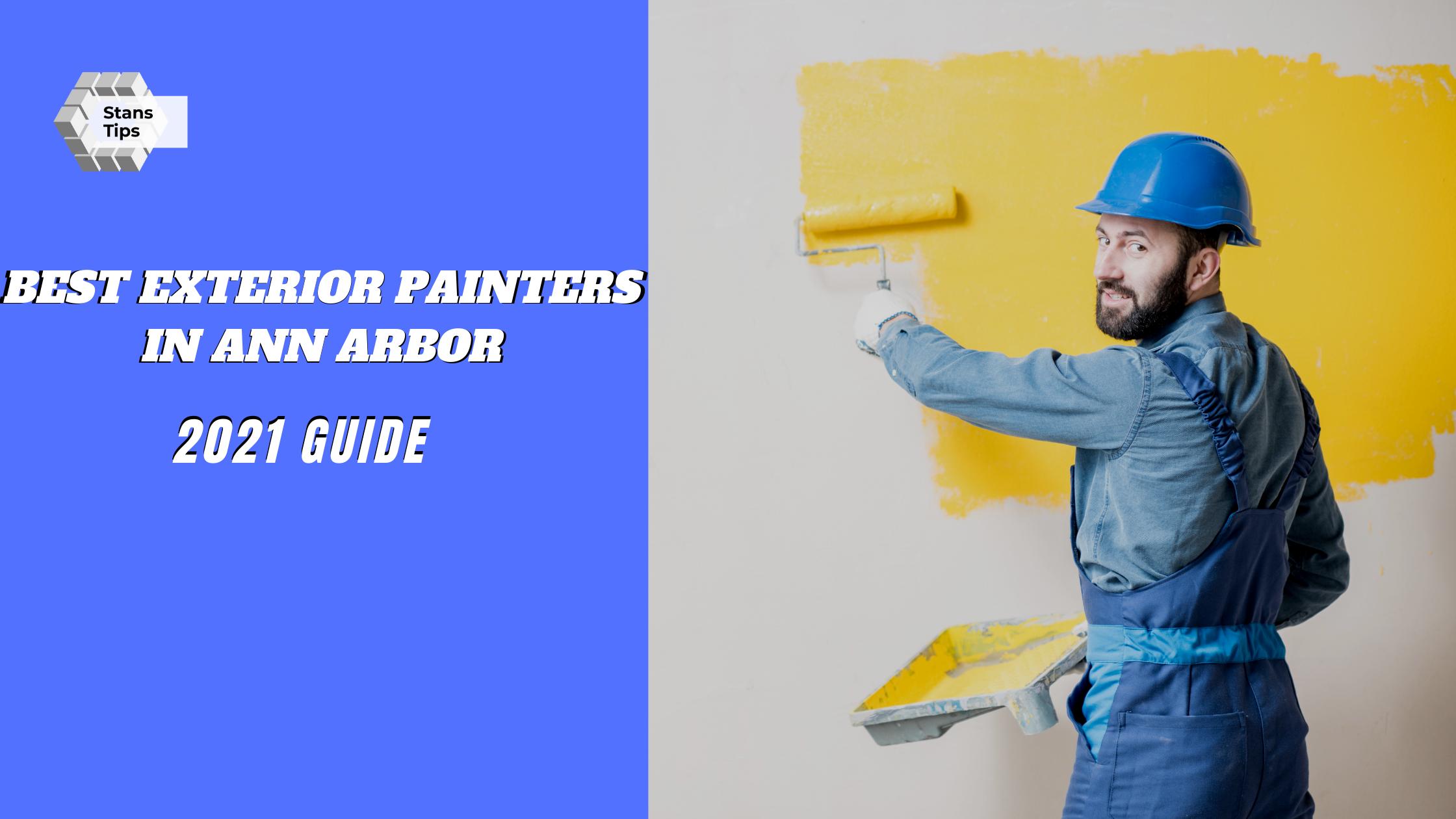 Best exterior painters in ann arbor