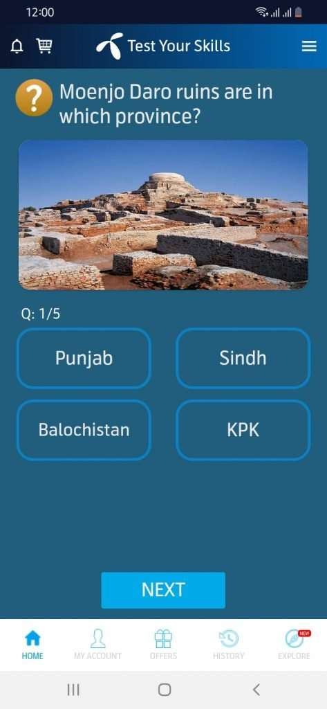 Telenor Quiz Answer 10 august 2021 first question