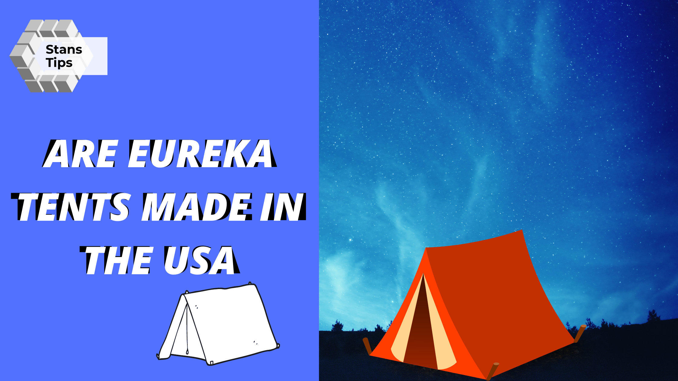 Are Eureka tents made in the USA