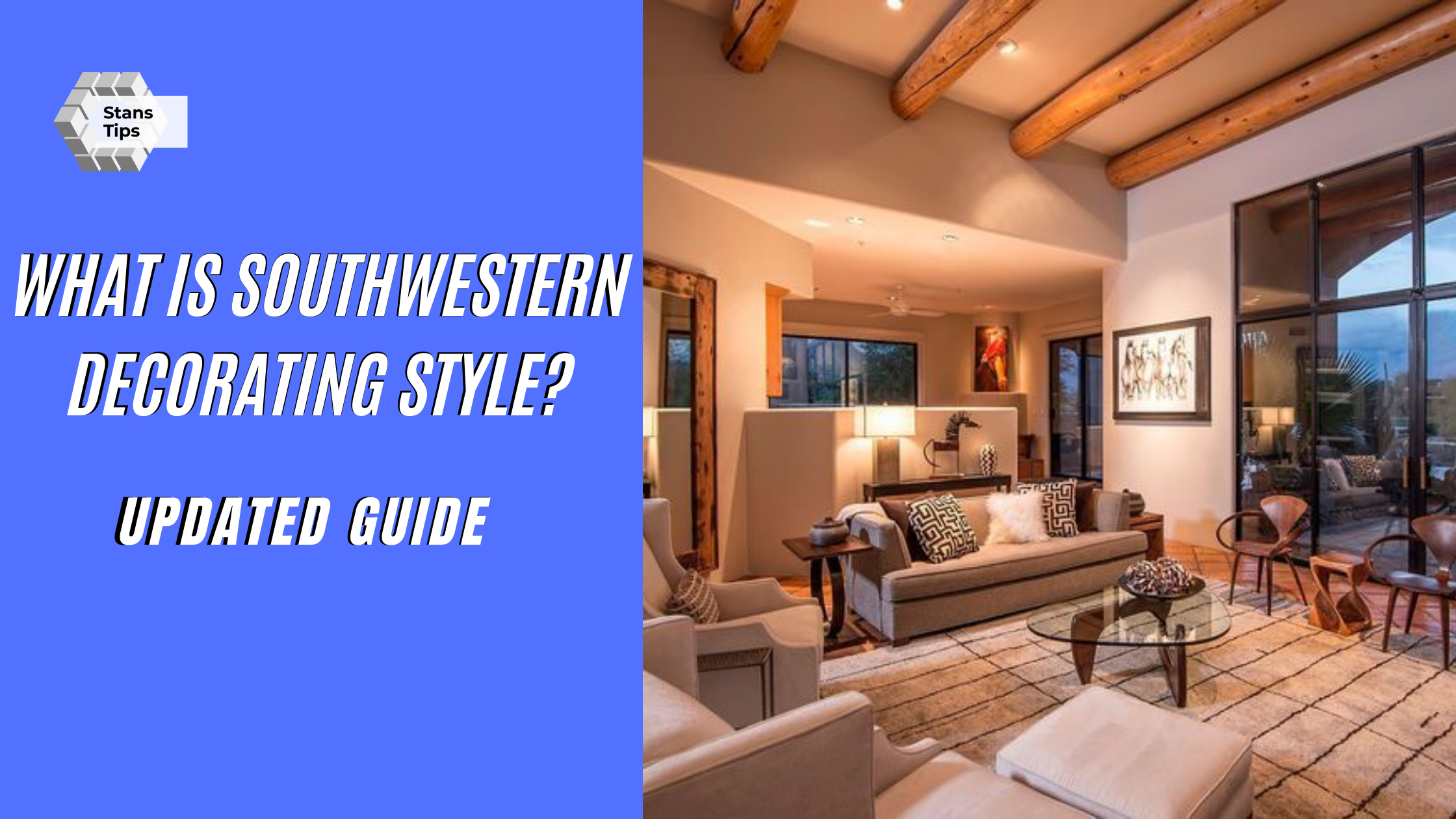What is southwestern decorating style