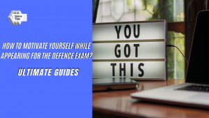 How to motivate yourself for the defence exam